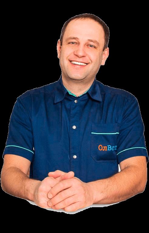 Олег Лисак - засновник мережі ветеринарних клінік ОлВет